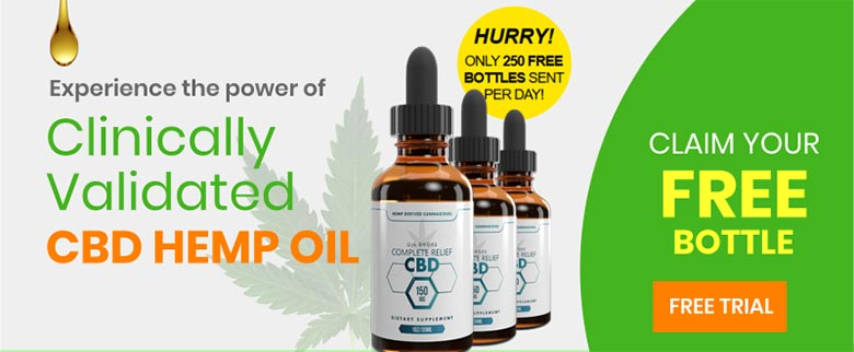 CBD Oil Free Trial Bottle