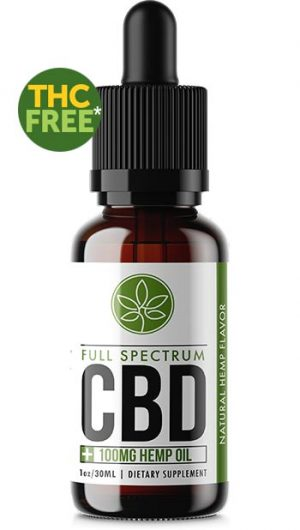 Full Spectrum CBD Oil Trial